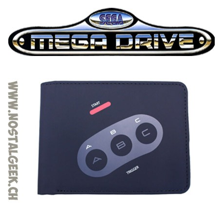 Sega Porte Monnaie Mega Drive Controller