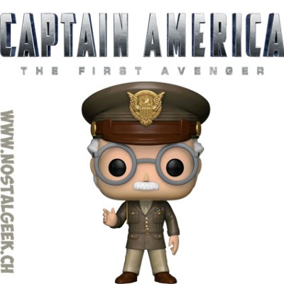 Funko Pop Marvel Captain America The First Avenger Stan Lee (General) Edition Limitée