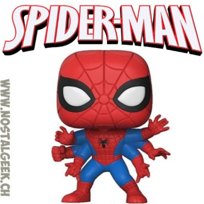 Funko Pop! Marvel Six Arms Spider-man Edition Limitée