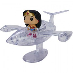Pop Rides DC Universe Wonder Woman And invisible jet