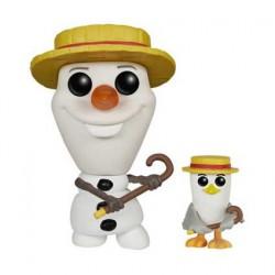 Funko Pop! SDCC 2015 Disney Reine des Neiges Olaf Barbershop Quartet Edition limitée