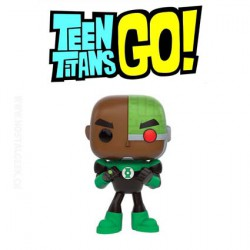 Funko Pop! DC Teen Titans Go Cyborg As Green Lantern Edition Limitée