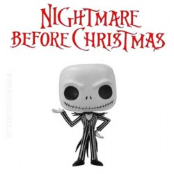 Funko Pop! Nightmare before christmas Jack Skellington avec flocon de neige