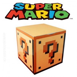 Super Mario Box Mystery block