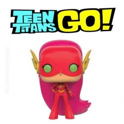 Funko Pop! TV Teen Titans Go Starfire As The Flash Edition Limitée