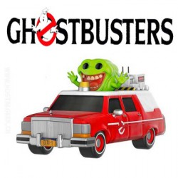 Funko Pop! Movies Ghostbusters Ecto 1 avec Slimer SDCC 2016