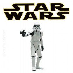 Star Wars Stormtrooper Commander Attakus Série Métal Numérotée