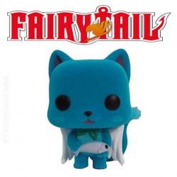 Funko Pop! Anime Fairy Tail Happy Flocked Edition Limité
