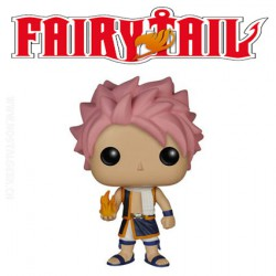Funko Pop! Anime Fairy Tail Happy Flocked Edition Limité