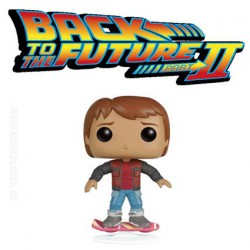 Funko Pop! Film Retour vers le futur Marty McFly sur son Hoverboard