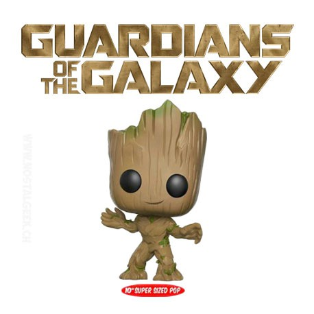 Funko Pop! Guardians of the Galaxy: Vol 2 - Groot Taille réelle 25 cm Edition Limitée