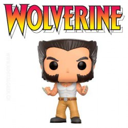 Funko Pop! Marvel X-Men Wolverine Logan Vest Top Edition Limitée