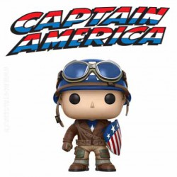 Funko Pop ECCC 2017 Marvel WW2 Captain America Edition Limitée à 3000