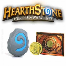 Hearthstone Heroes of Warcraft Balle antistress - Coin & Card Code