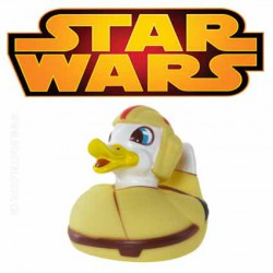 Star Wars Canard en caoutchouc avec LED Luke Pondwalker