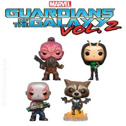 Funko Pop! Marvel Guardians of the Galaxy 2 4-Pack 2 Edition Limitée