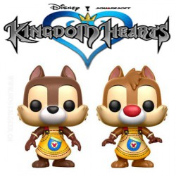Funko Pop! Disney Kingdom Hearts Chip & Dale (Tic et Tac) 2 Pack