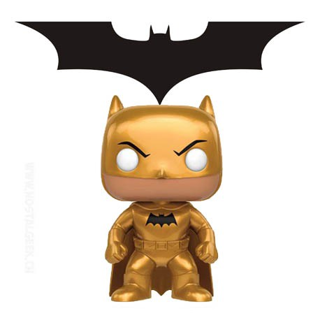 Funko Pop! DC Heroes Batman Golden Midas Edition Limitée