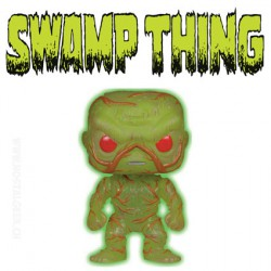 Funko Pop! DC Super Heroes Swamp Thing Phosphorescent Edition limitée