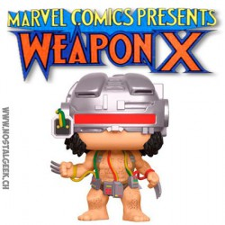 Funko Pop! Marvel X-Men Wolverine Weapon X Edition Limitée