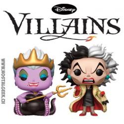 Funko Pop! Disney Ursula et Cruella 2-Pack Edition Limitée