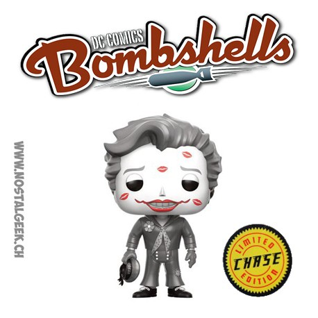 Funko Pop! DC Bombshells Joker With Kisses Chase Edition Limitée