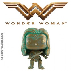 Funko Pop! DC Batman vs Superman Wonder Woman Patined Bronze Exclusive