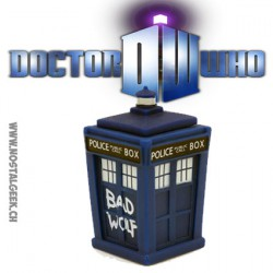Doctor Who Bad Wolf TARDIS Titans Vynil Figure
