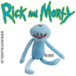 Peluche Rick et Morty : Mr Meeseeks (Monsieur Larbin)
