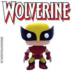 Funko Pop! Marvel X-Men Pop Marvel Wolverine Costume Brun Edition Limitée