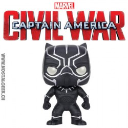 Funko Pop! Marvel Civil War Captain America - Black Panther