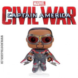 Funko Pop! Marvel Captain America Civil War - Falcon Edition Limitée