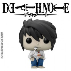 Funko Pop! Manga Death Note L with Cake Edition Limitée