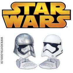 Star Wars Titanium Black Series Helmets Captain Phasma & First Order Stormtrooper