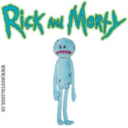 Peluche Rick et Morty : Mr Meeseeks (Monsieur Larbin) Triste