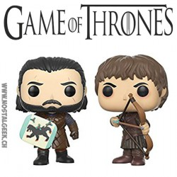 Funko Pop! TV Game of Thrones Jon Snow et Ramsey Bolton: Battle of The Bastards 2-pack figures