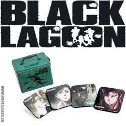 Black Lagoon set de dessous de verres