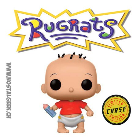Funko Pop! TV Nickelodeon 90'S TV Rugrats (Razmoket) Tommy Chase Edition Limitée