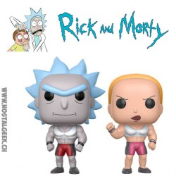 Funko Pop! ECCC 2017 Rick & Morty Buff Rick & Buff Summer 2 Pack Edition Limitée