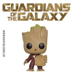 Funko Pop! Baby Groot Angry Ravager with Patch Edition Limitée