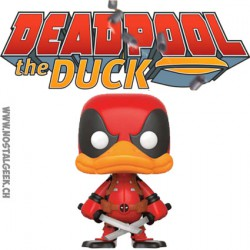 Funko Pop! Marvel Deadpool The Duck Edition Limitée