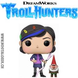 Funko Pop! TélévisionTroll Hunters Claire avec Gnome
