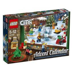 LEGO - 60155 - LEGO City - Le Calendrier de l'Avent LEGO City 2017
