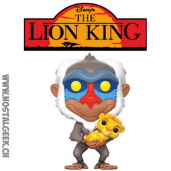 Pop Disney The Lion King Rafiki with Simba Vinyl Figure
