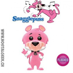 Funko Pop! Cartoon Hanna Barbera Snagglepuss (Alcibiade) Flocké Edition Limitée