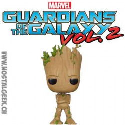 Funko Pop Guardians of the Galaxy 2 Groot adolescent Edition Limitée