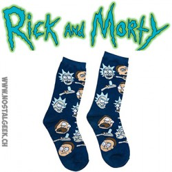 Rick and Morty Chaussettes pour adultes 39-46