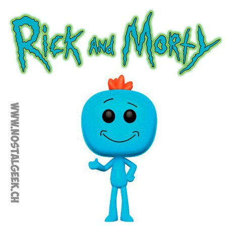 Funko Pop Rick et Morty Mr Meeseeks (M. Larbin)