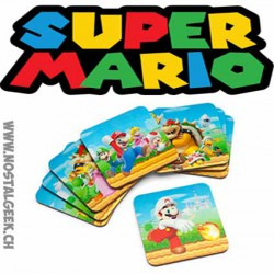 Super Mario 3D Dessous-de-verre Multicolors