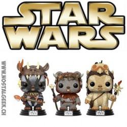 Funko Pop Star Wars Ewoks 3-pack Teebo, Chief Chirpa & Logray Edition Limitée
